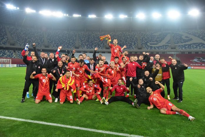 Macedonia football team