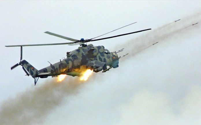 Macedonian mi-24 conflict 2001