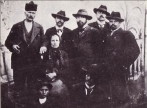 Goce Delchev - second to left with Baba Dona
