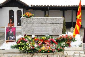 Goce Delchev Grave Sveti Spas Skopje