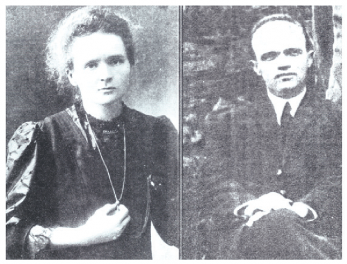 Anastas Kocarev and Maria Curie