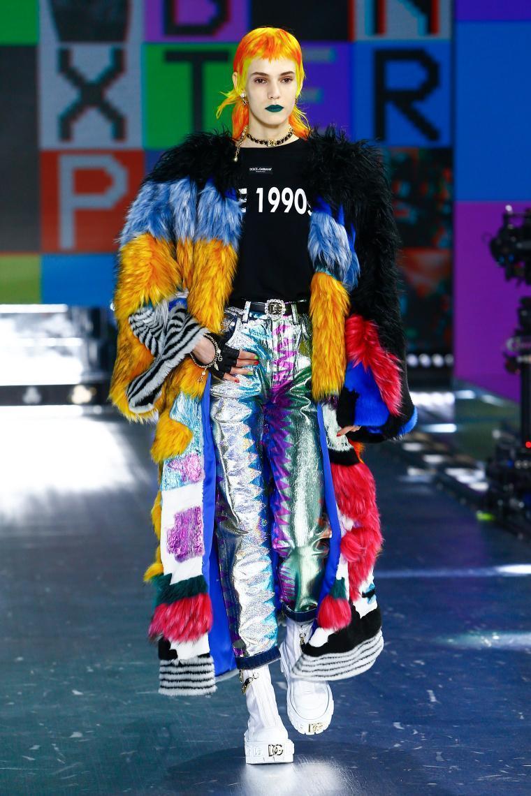 Ivana Manas in Dolce & Gabbana
