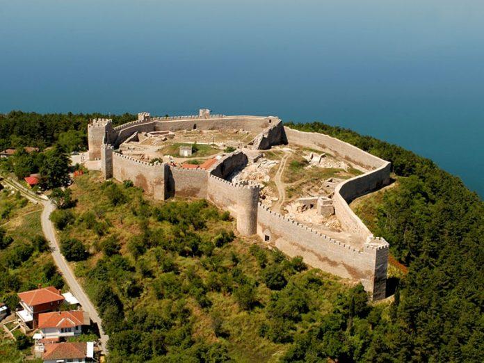 Czar Samoil's Fortress Ohrid Macedonia
