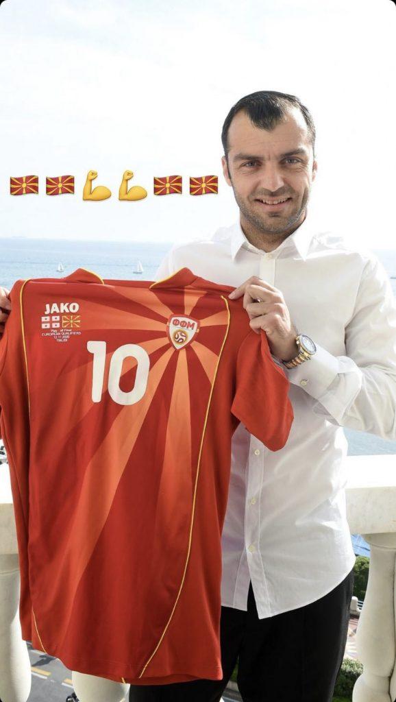 Goran Pandev Macedonia euro 2020