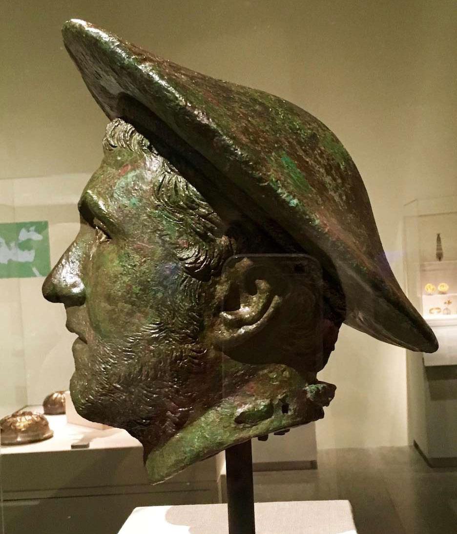 Macedonian kausia hat