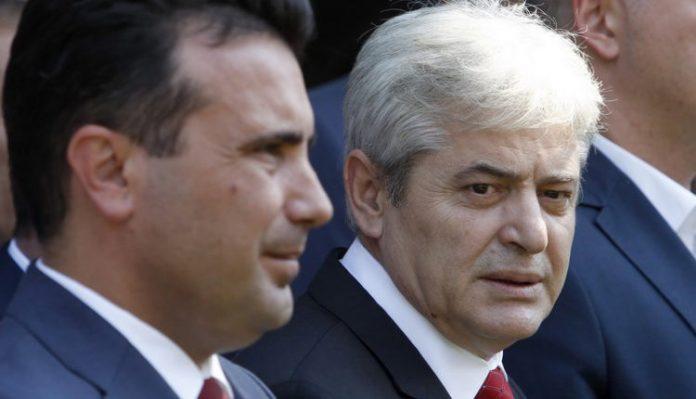 Ali Ahmeti Zoran Zaev