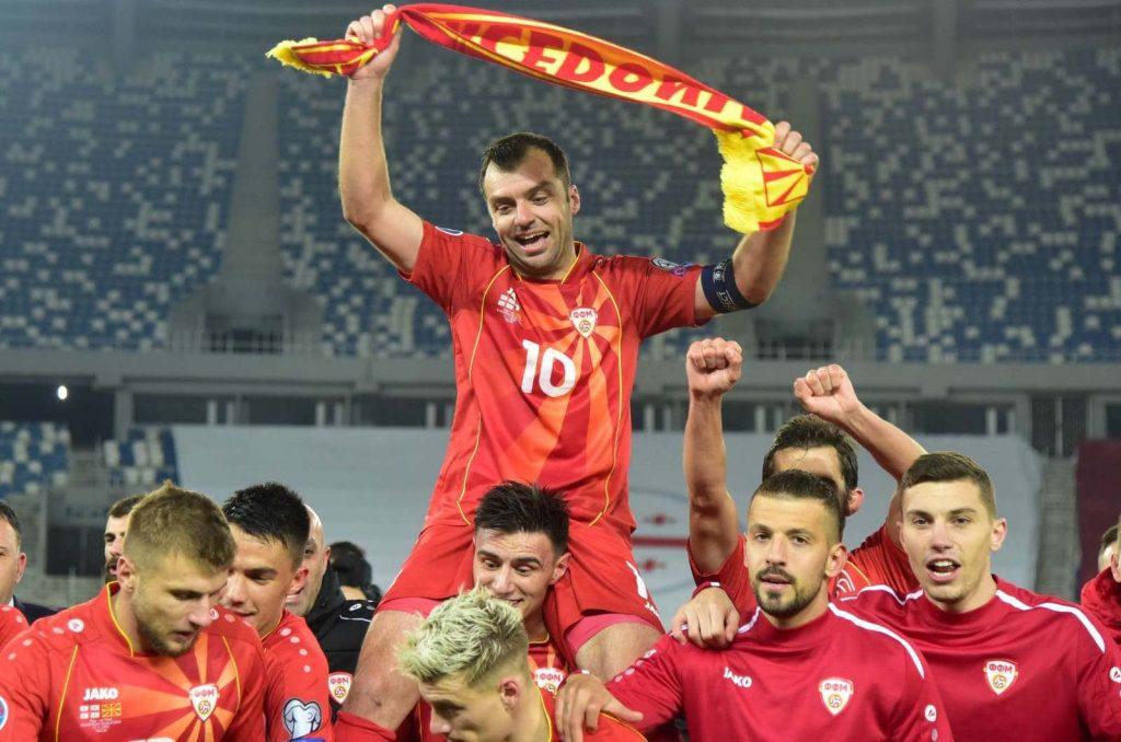 Goran Pandev Macedonia euro2020
