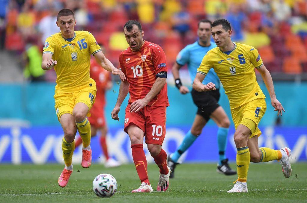 Goran Pandev Ukraine euro2020