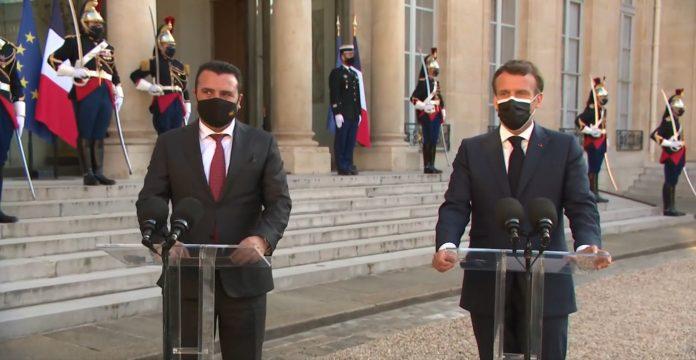 Zoran Zaev Emanuel Macron