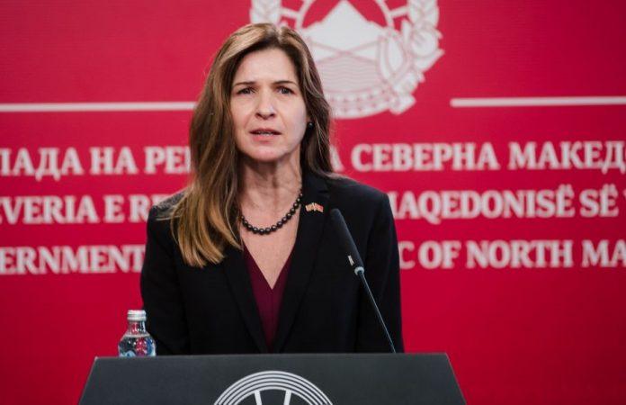 kate byrnes Macedonia US ambassador