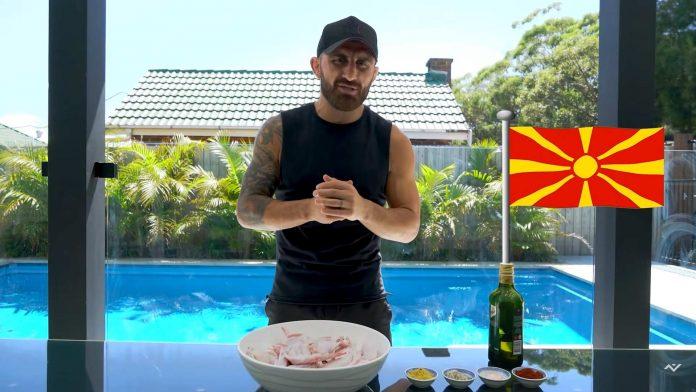 Macedonian recipes Alexander Volkanovski